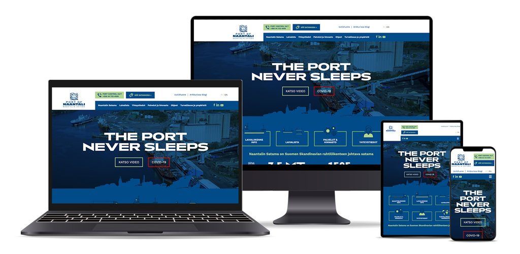 Koodiketo referenssi - Port of Naantali - Naantalin Satama